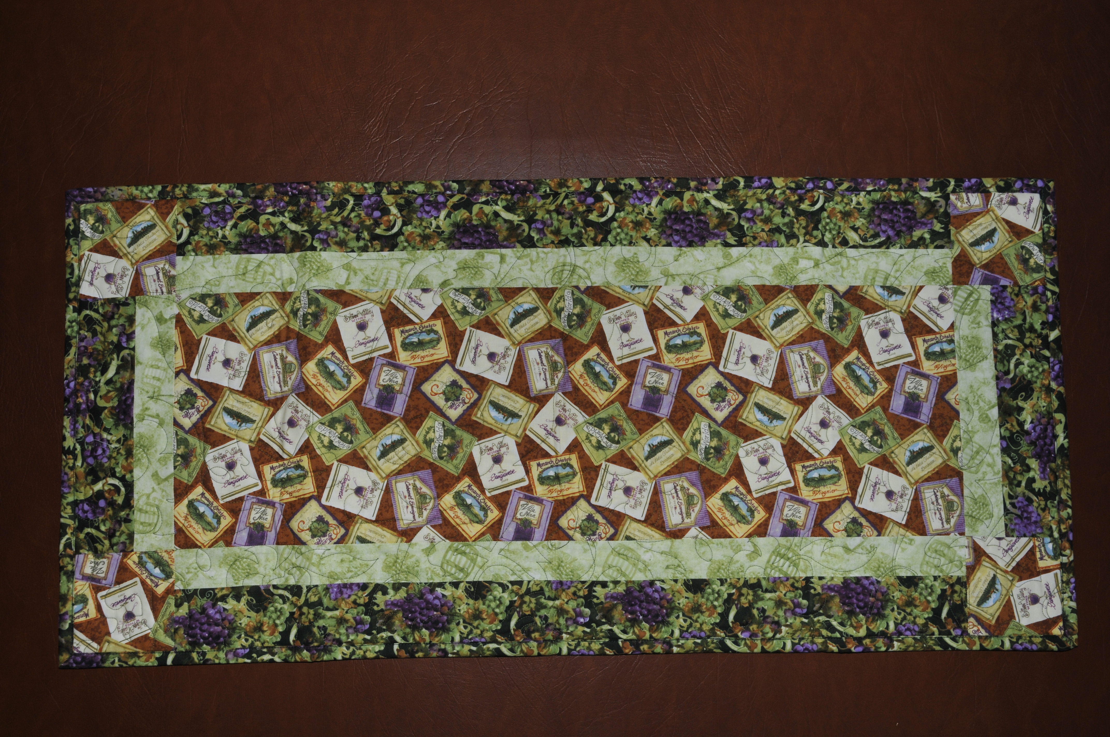 Wine Country Table Runner 2